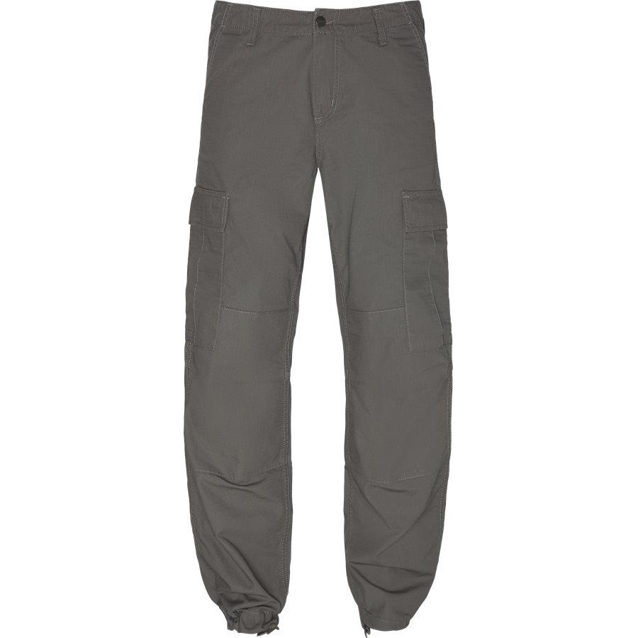 REGULAR CARGO PANT-I015875 - Cargo Pants - Bukser - Regular - AIR FORCE GREY RINSED - 1